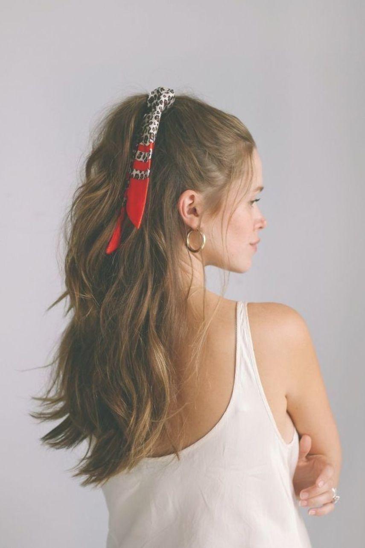 5 Ways To Style A Bandana Bandana Hairstyle Hairstyles Style Ways Linnie28lehner Kecantikan Rambut Tutorial Rambut Gaya Rambut Bandana