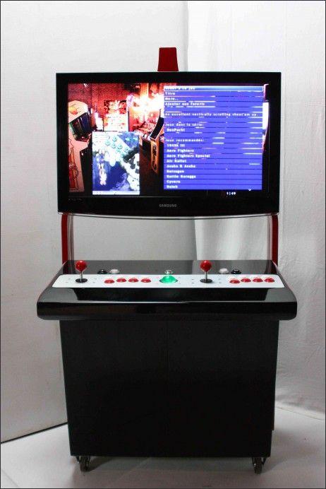 Menuisier pour borne d\u0027arcade personalisée et meuble Geek