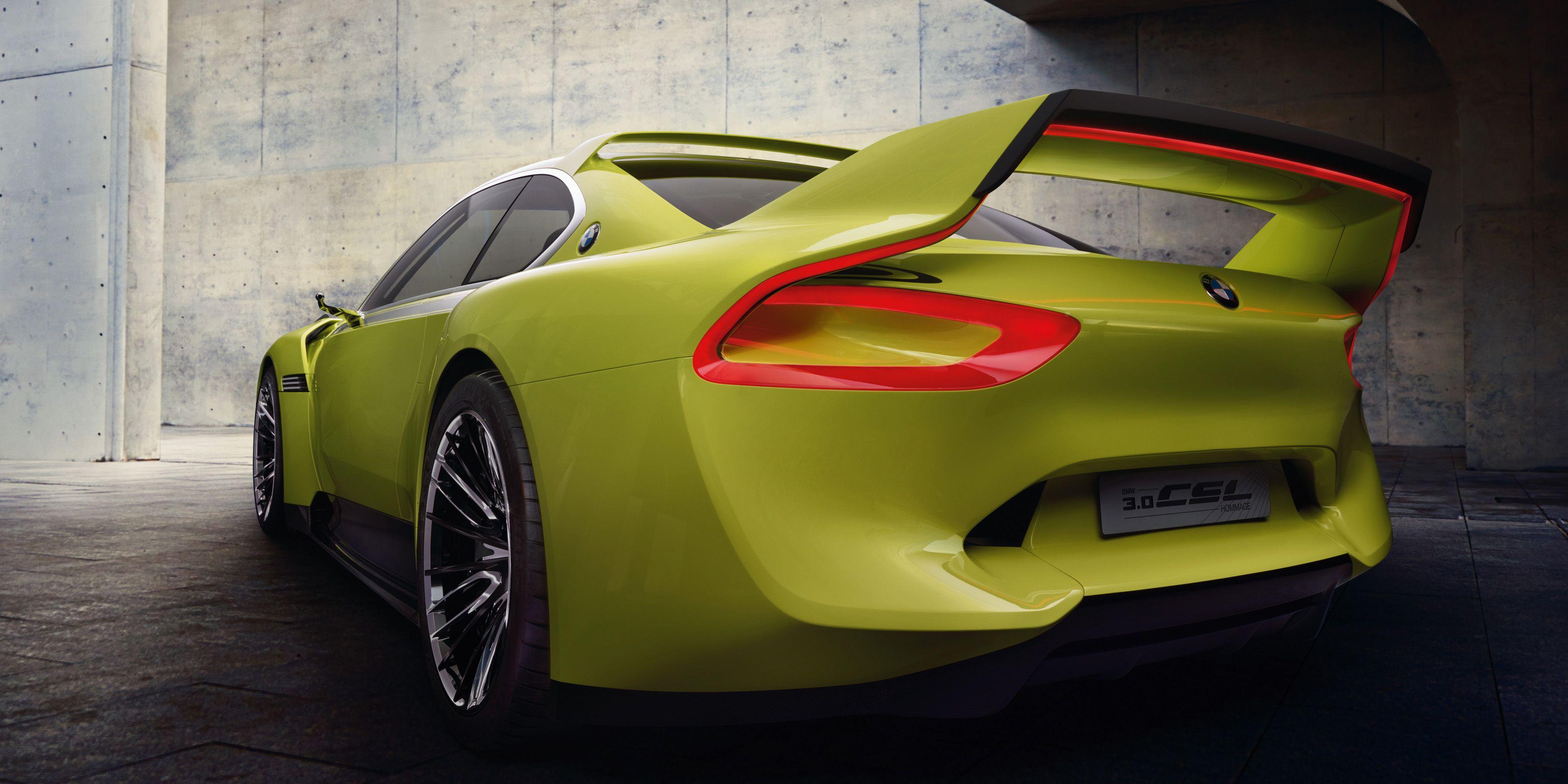 Bmw 3 0 Csl Hommage Concept Official Photos Concept Cars Bmw Hybrid Bmw