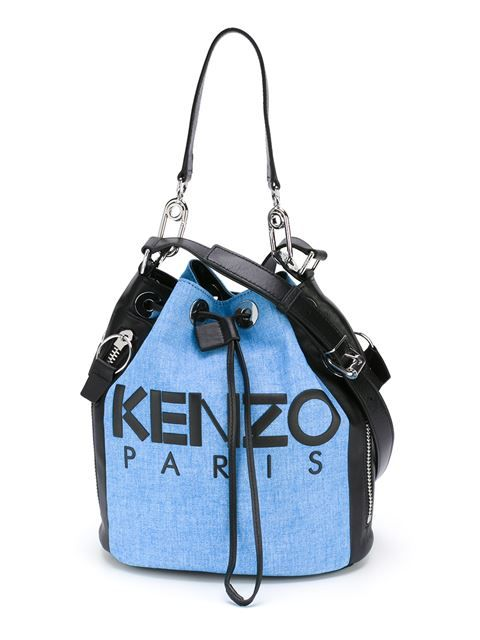 6bc641d2b8 KENZO 'Kanvas' Bucket Tote. #kenzo #bags #tote #leather #bucket #shoulder  bags #hand bags #cotton