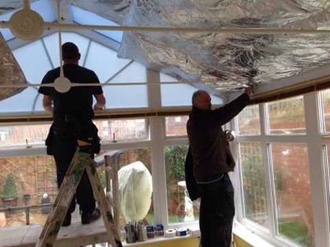 This Is An Anglian Gable End Conservatory With Glass Roof Conservatory Roof Conservatory Roof Insulation Conservatory