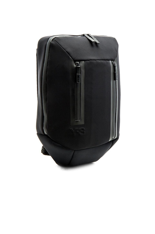 7aa5819f9163 Y-3 Yohji Yamamoto Flat Backpack Y 3 Yohji Yamamoto