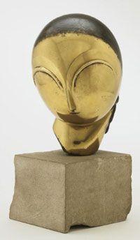 c. 1913 'Danaïde' Bronze Sculpture by; Constantin Brancusi [1876-1957]