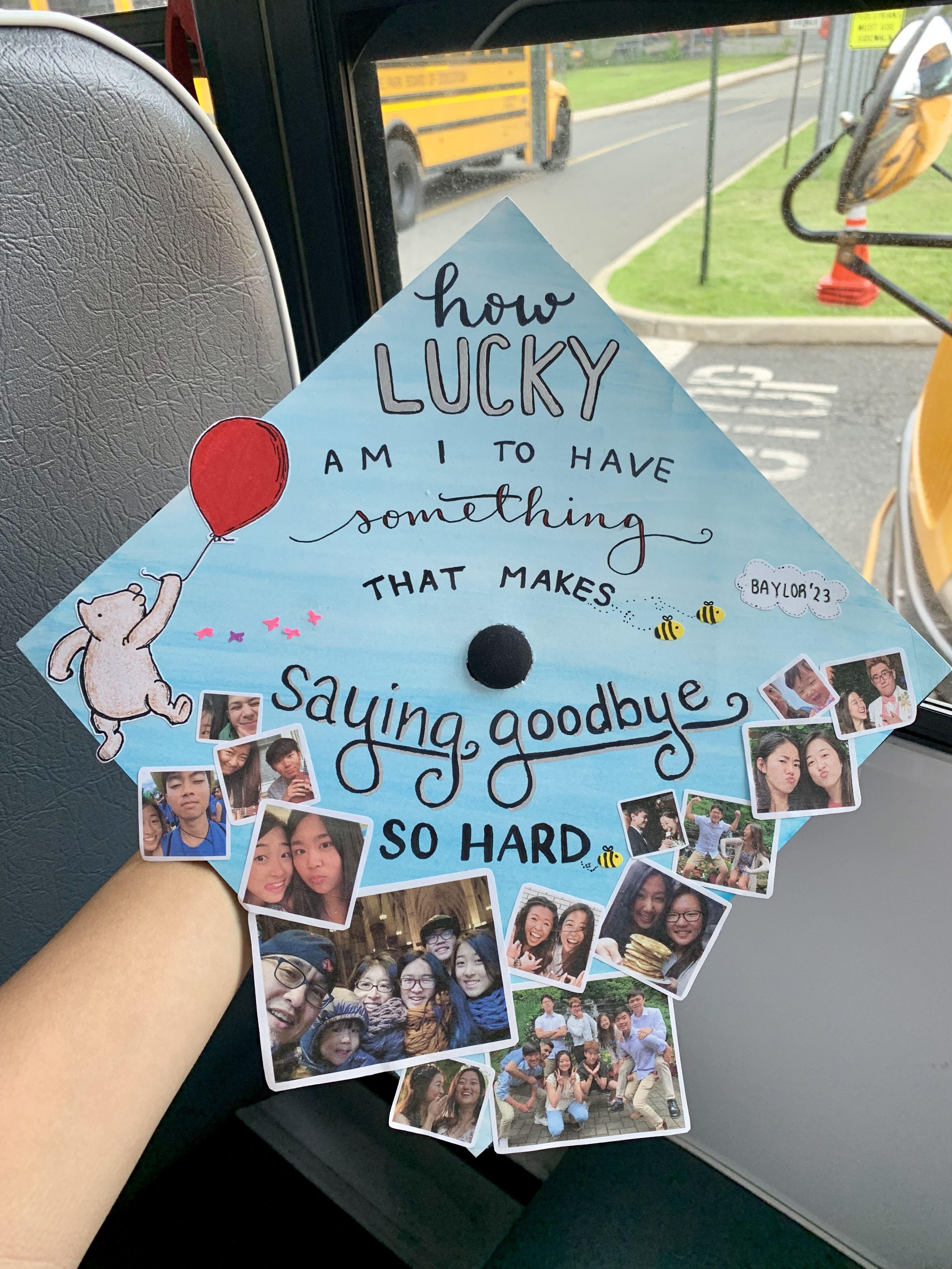 winnie the pooh graduation cap:)