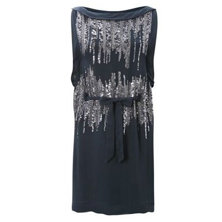 b52adfcbc33 Silver Simmons sequin dress at French Connection - £49 | The Daily ...