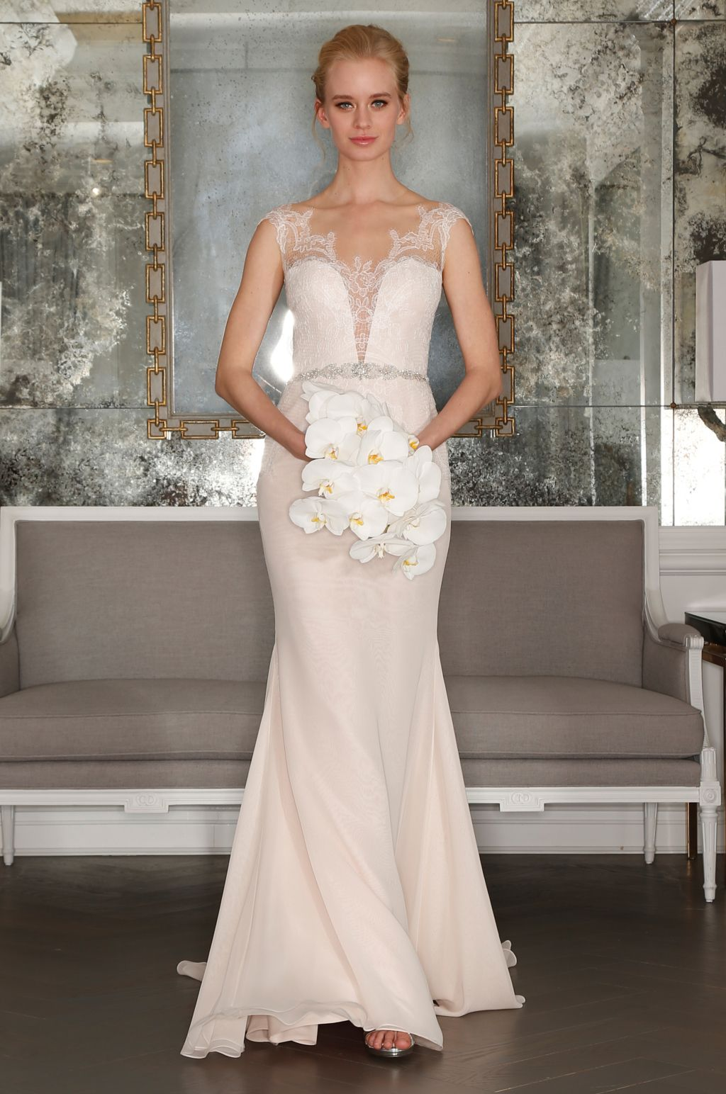 Different color wedding dresses  Romona Keveza Spring Bridal   Romona keveza Wedding dress and