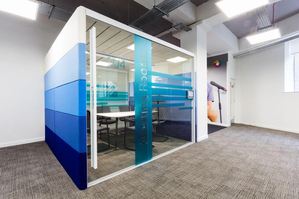 A Look Inside Vodafone's Cool Bracknell Office Office
