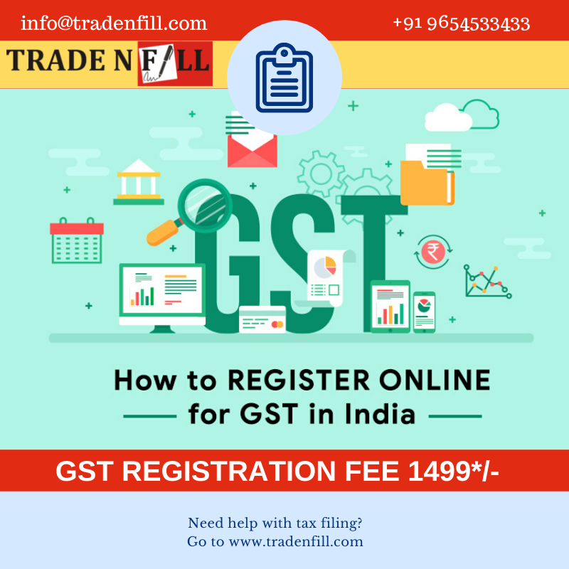 Gst Registration Online Online Gst Registration Process Step By