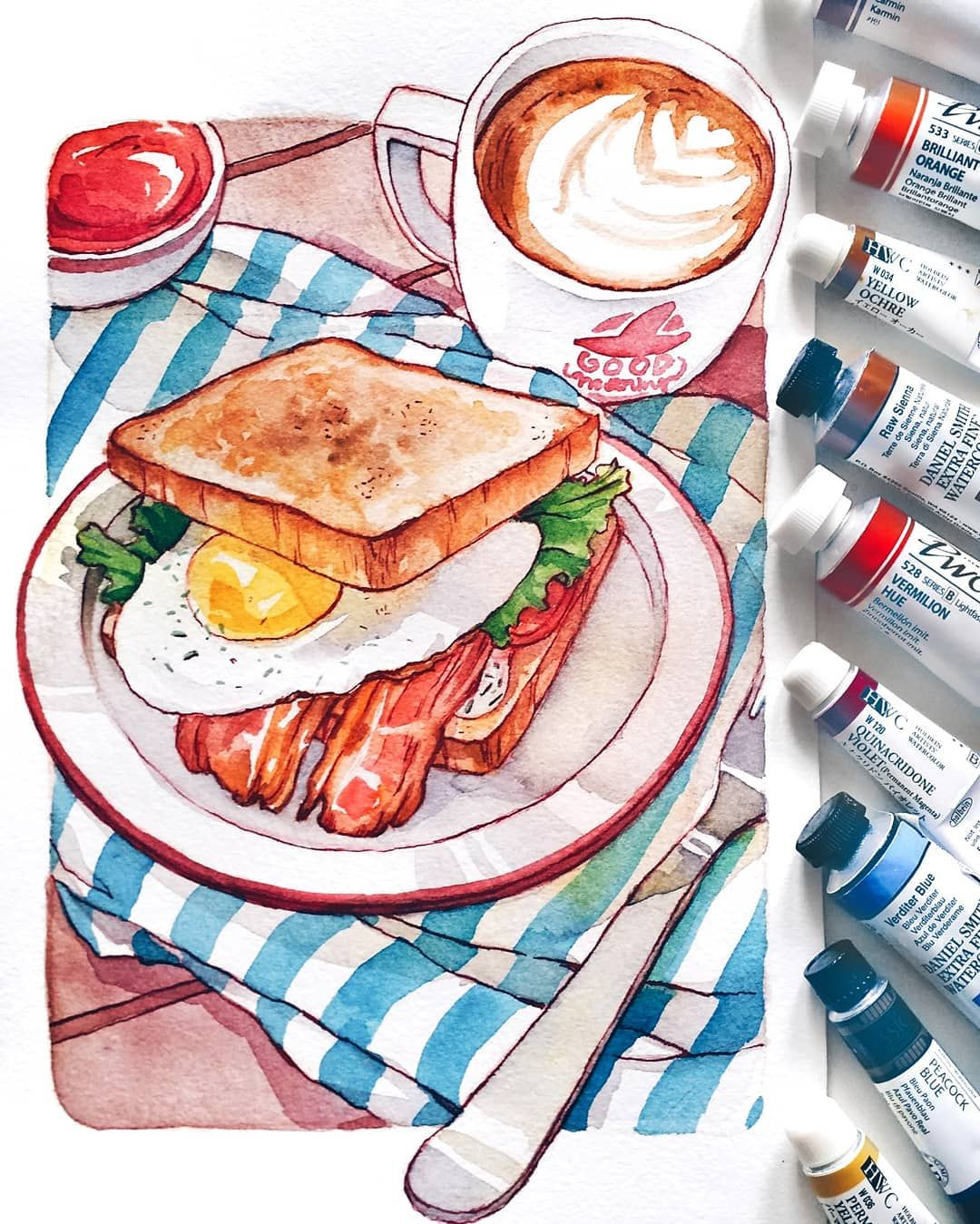 """Ashiya Kisa on Instagram: """"second video in the HUNGRY  series will be this little breakfast sandwich!🍳"""""""
