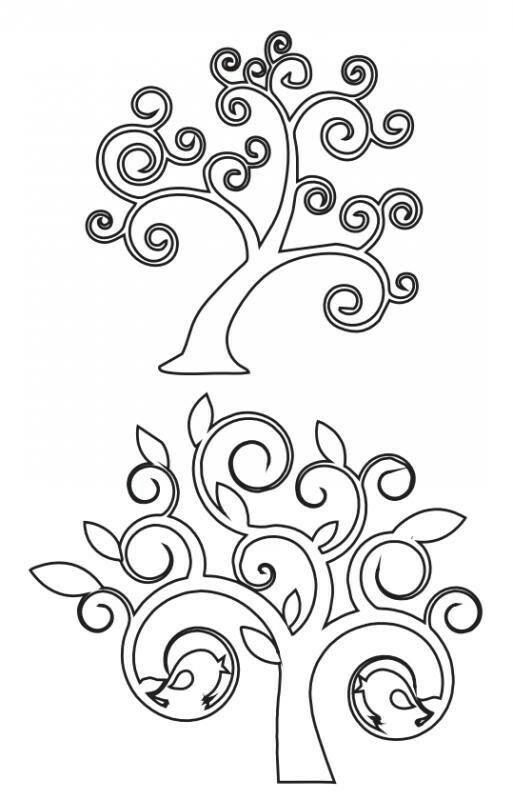 Disegno Stencil Albero Della Vita.Pin Di Chicca Del Prete Su Stencil Albero Della Vita