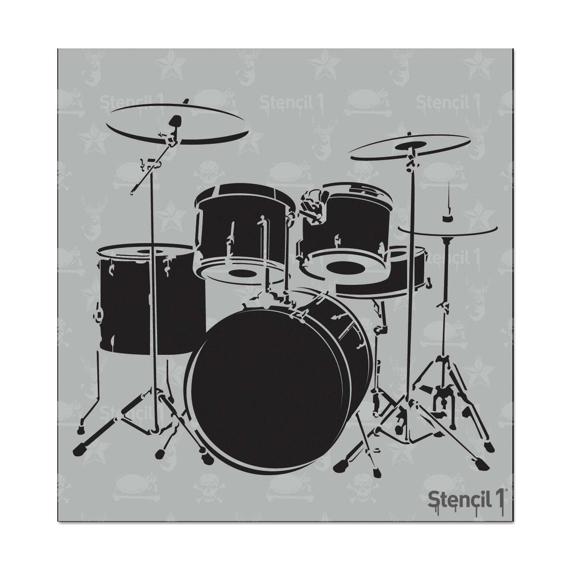 Stencil1 Drum Set - Stencil 5.75\