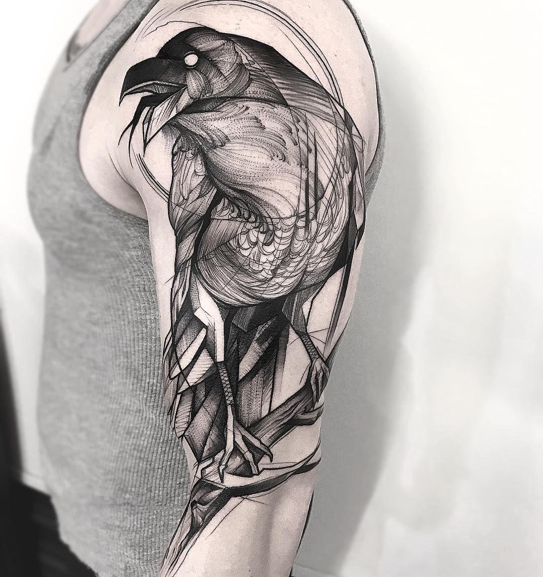Tattoo Designs Bebe Bapu: Tattoos, Raven Tattoo