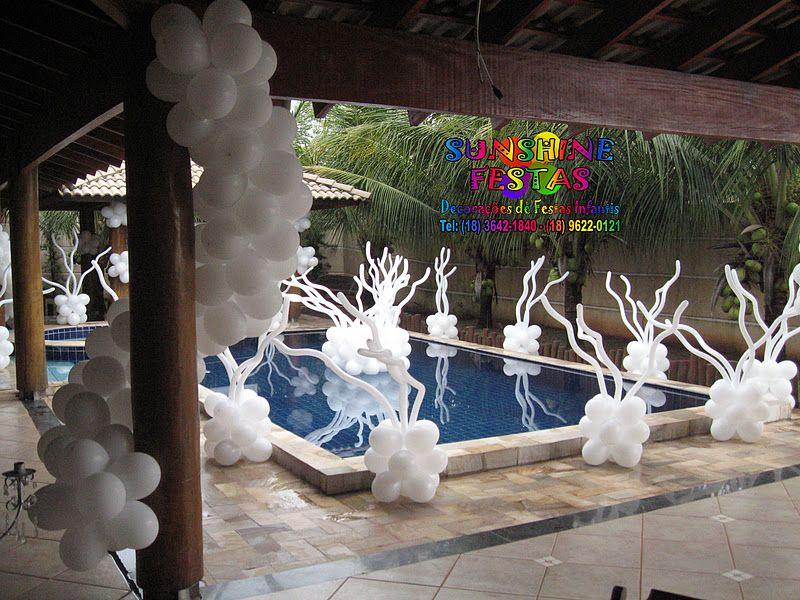 decoraç u00e3o festa de reveillon com balões Pesquisa Google Reveillon Decoraç u00e3o festa  -> Decoração De Reveillon Na Fazenda