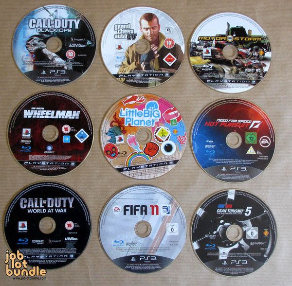 Instant Playstation 3 Game Collection - joblotbundle.com