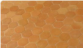 Tomettes De Salernes Terres Cuites Des Launes Tomette Forme Hexagonale Hexagonaux