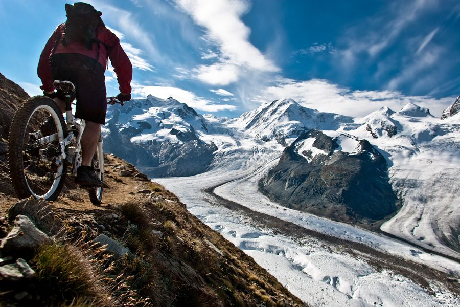 Glacial biking by damian cromwell 500px mountain bike