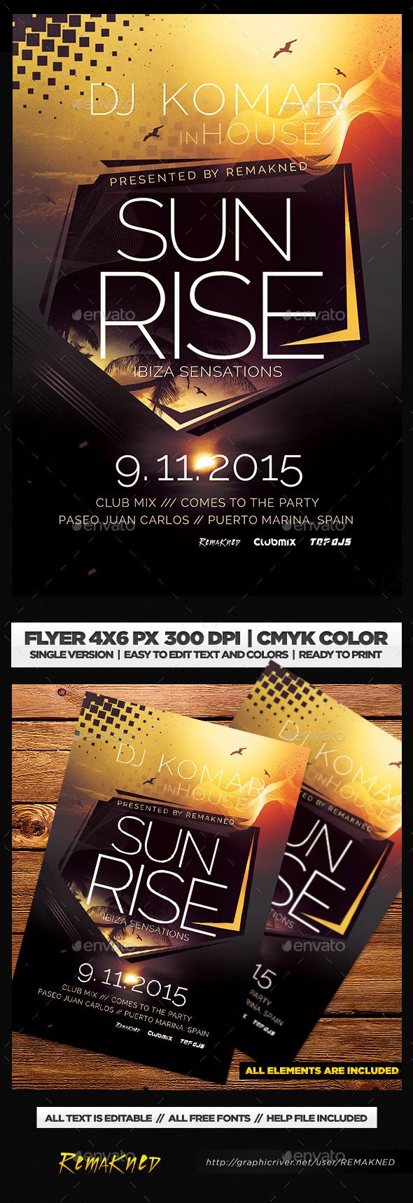 Electronic Flyer Template PSD Flyer Template Template And Flyer - Electronic flyers templates