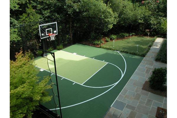 Dallas Basketball Courts Photo Gallery Sport Court Dallas Basketball Court Backyard Backyard Court Backyard Basketball