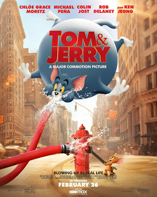 Tom Jerry 2021 Trailer Clips Featurette Images And Posters In 2021 Tom And Jerry Movies Tom And Jerry Jerry