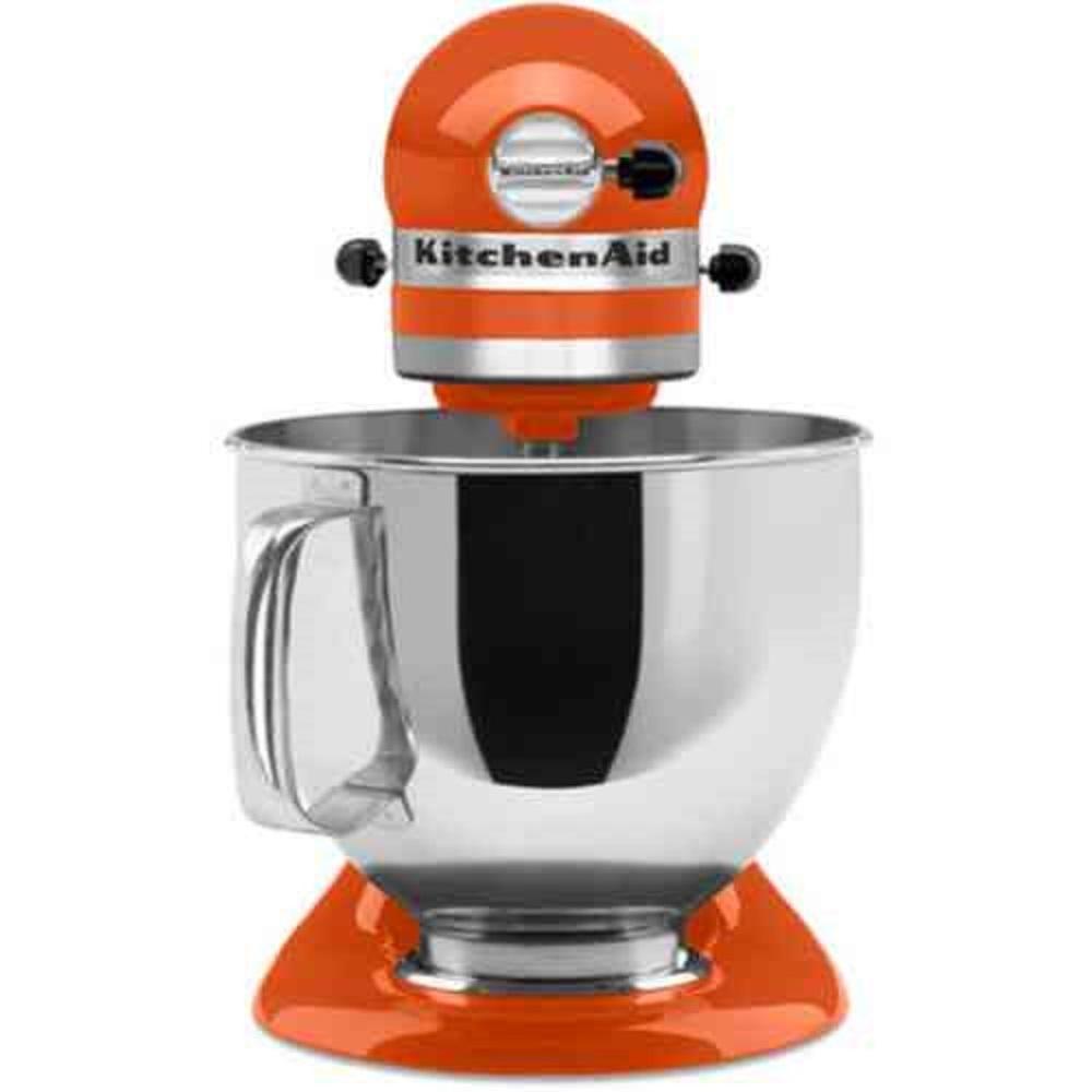 Kitchenaid artisan 5 qt 10speed persimmon stand mixer