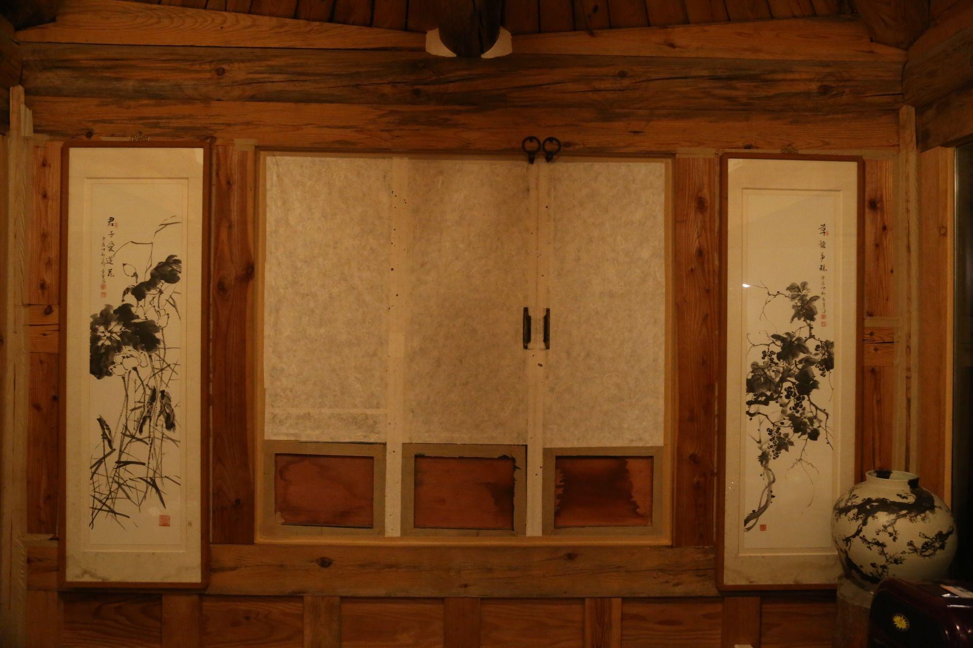 전통한옥의 취옹예술관과 약선요리 Traditional Korean style Chiong art ...
