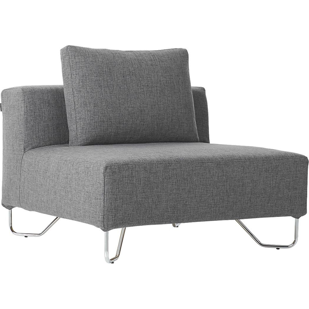 Designer Chairs For Living Room Lotus Grey Armless Chair  Modern Chairs Living Room Chairs And