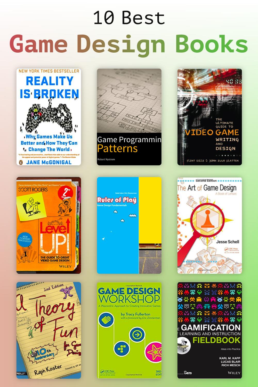 10 Best Game Design Books