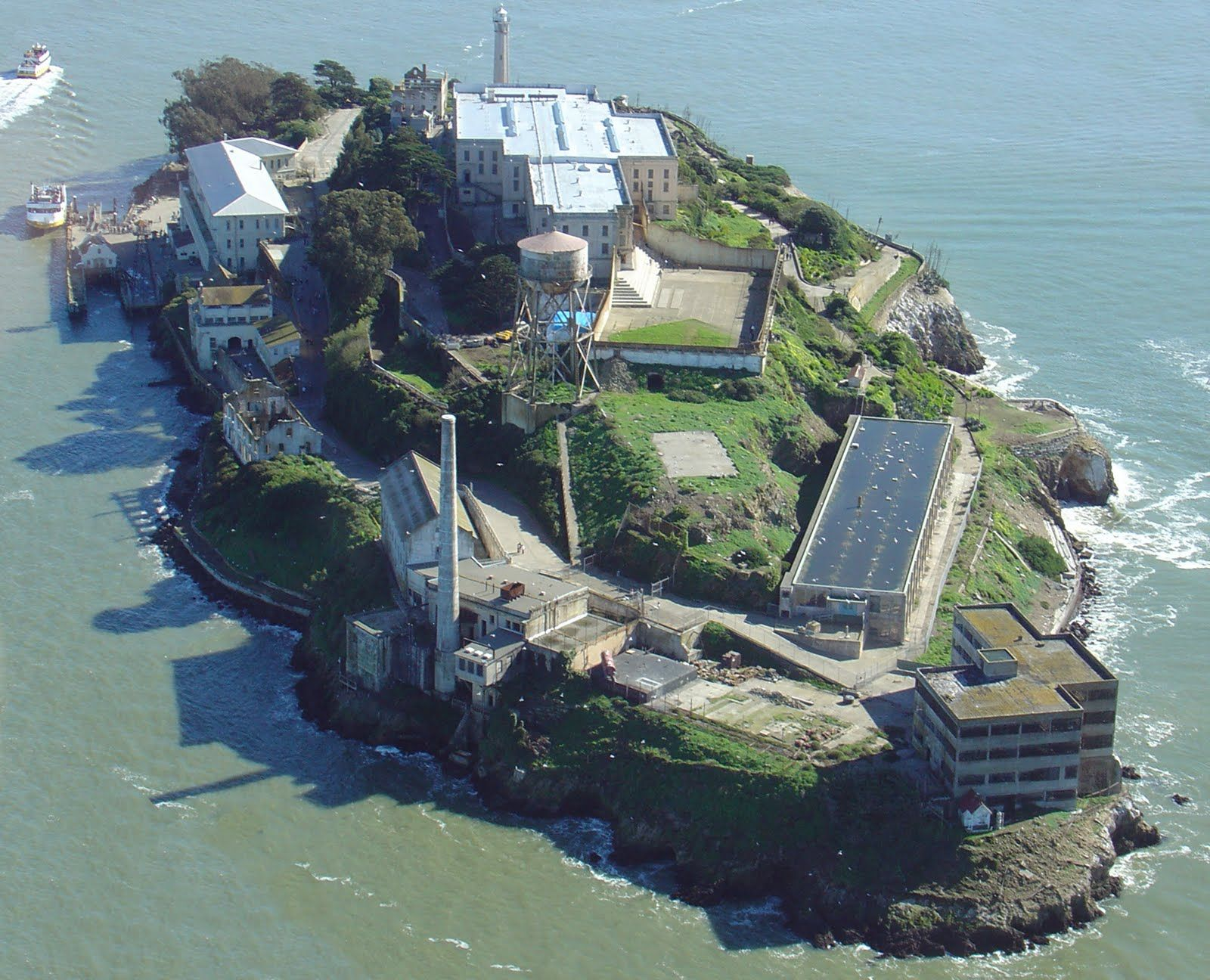 Alcatraz This Prison Is Located In California And It Is The Most