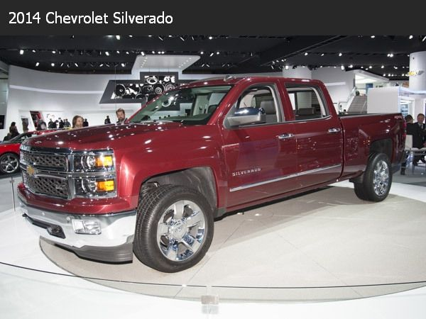 Class Of 2014 The All New Cars 2014 Chevrolet Silverado 1500