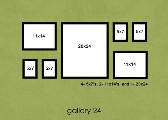 Photo Display Ideas Gallery Wall Layout Gallery Wall Photo Displays