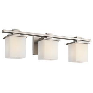 Kichler KK45151AP Tully 3 Bulb Bathroom Lighting   Antique Pewter