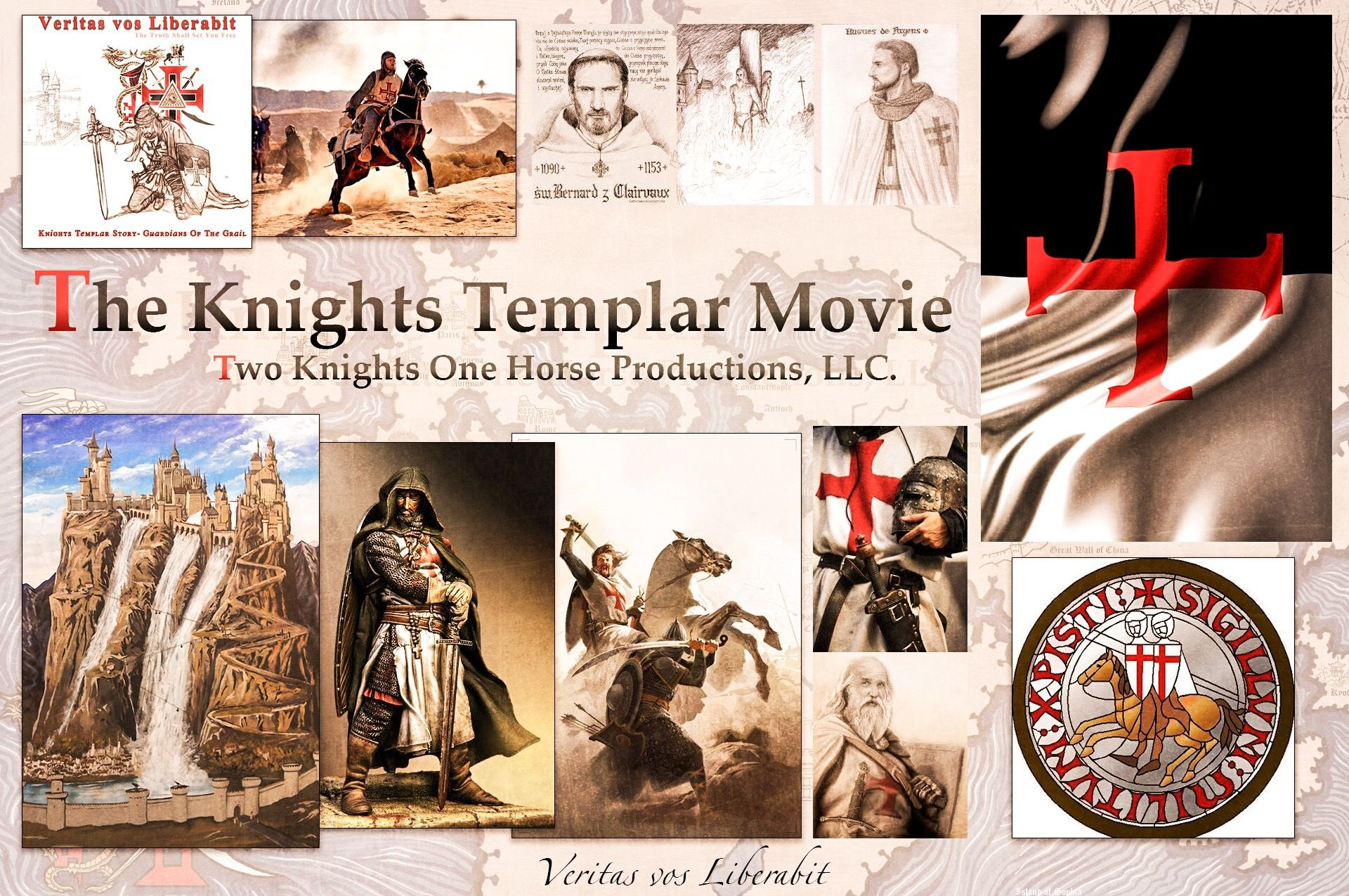 pin by two knights one horse productions on knights templar