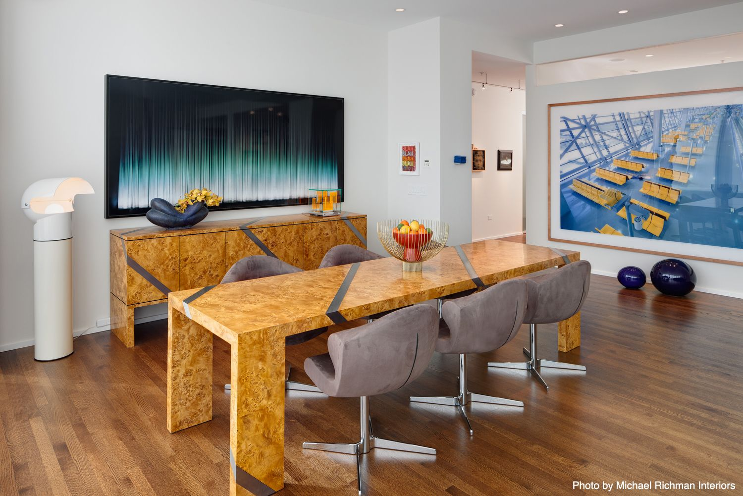 Hot Colors Of 2015 | Modern dining room tables, Home decor ...