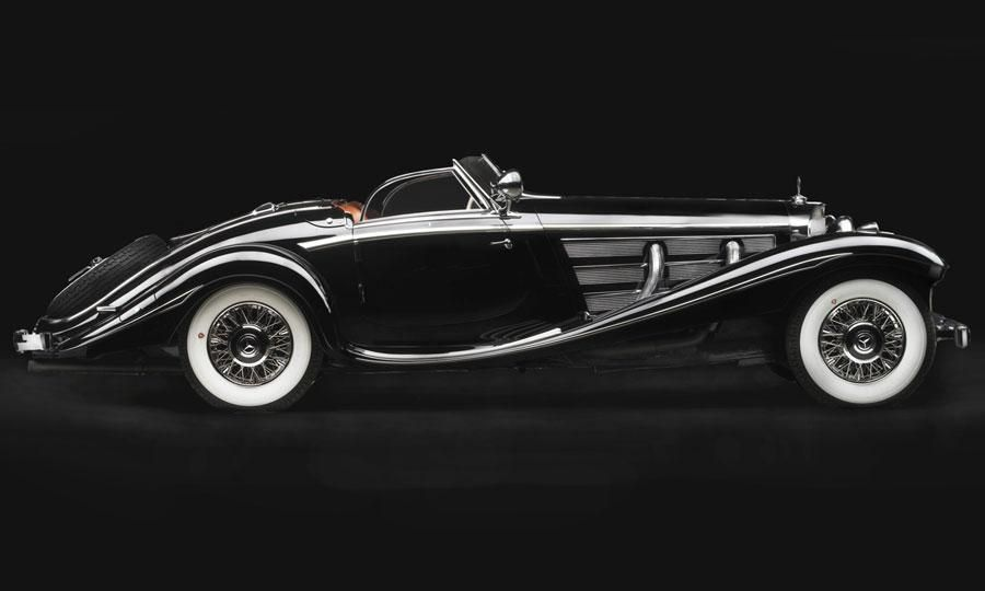 already a rare car the 1936 mercedes benz 540k special roadster has a unique