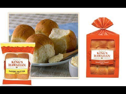 Kings Hawaiian Bread, Sweet Roll Recipe - CookwithApril