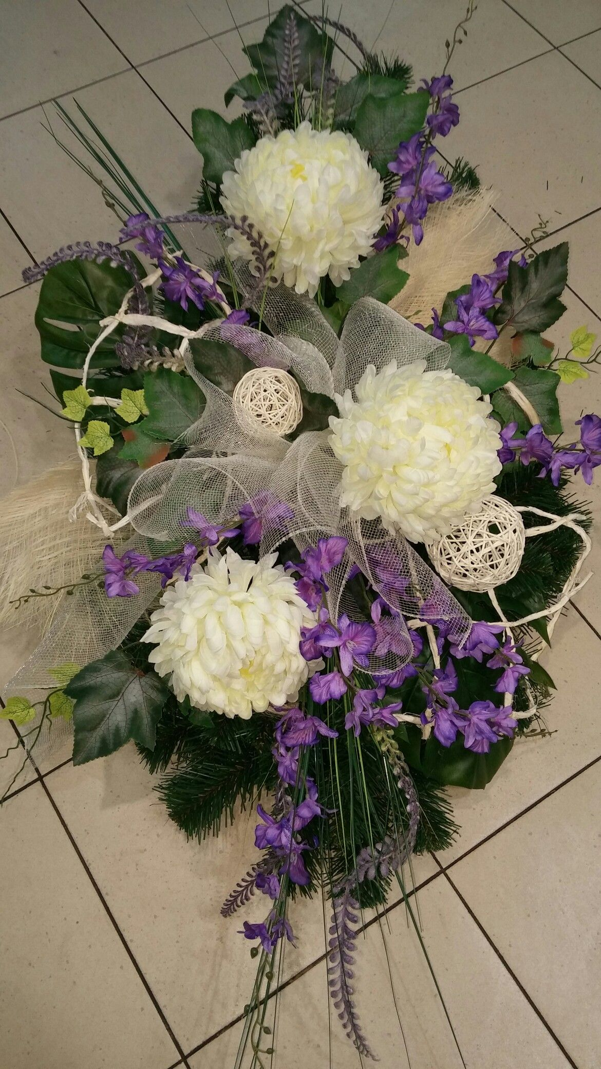 Wszystkich Swietych Funeral Flowers Floral Arrangements Floral Wreath