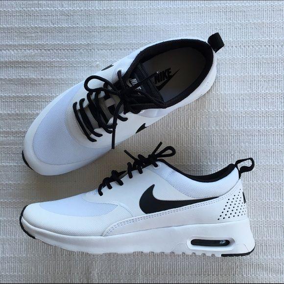 Nike Sz 7.5 Women's Air Max Thea White Black 599409 102 for
