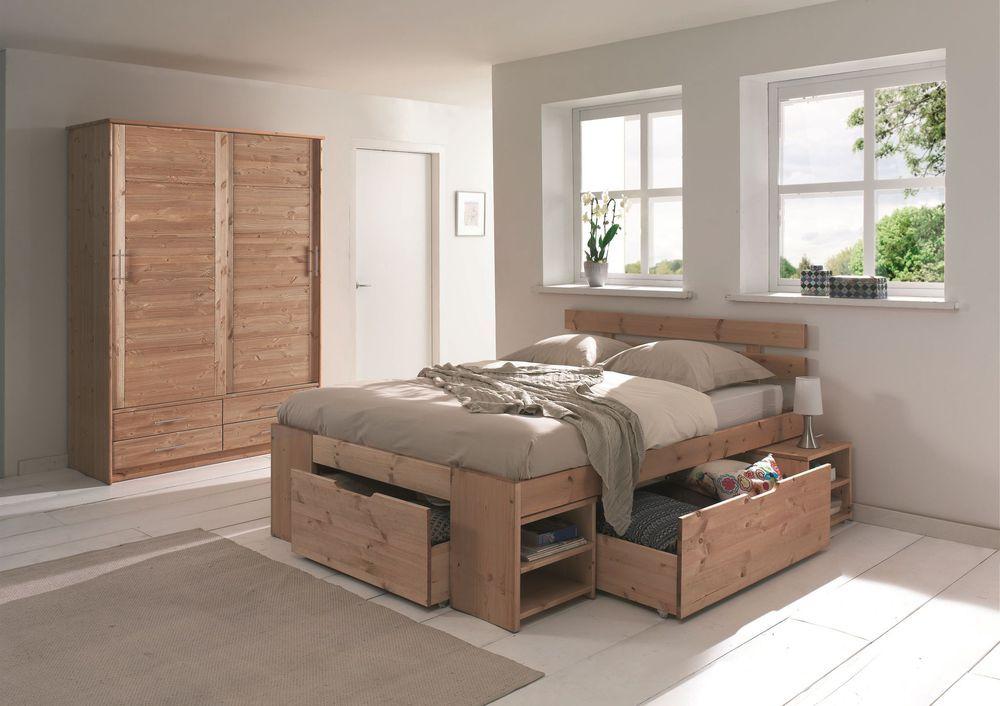 Rangements chambre : sélection de lits avec rangements | Chambre à coucher avec rangement, Lit ...