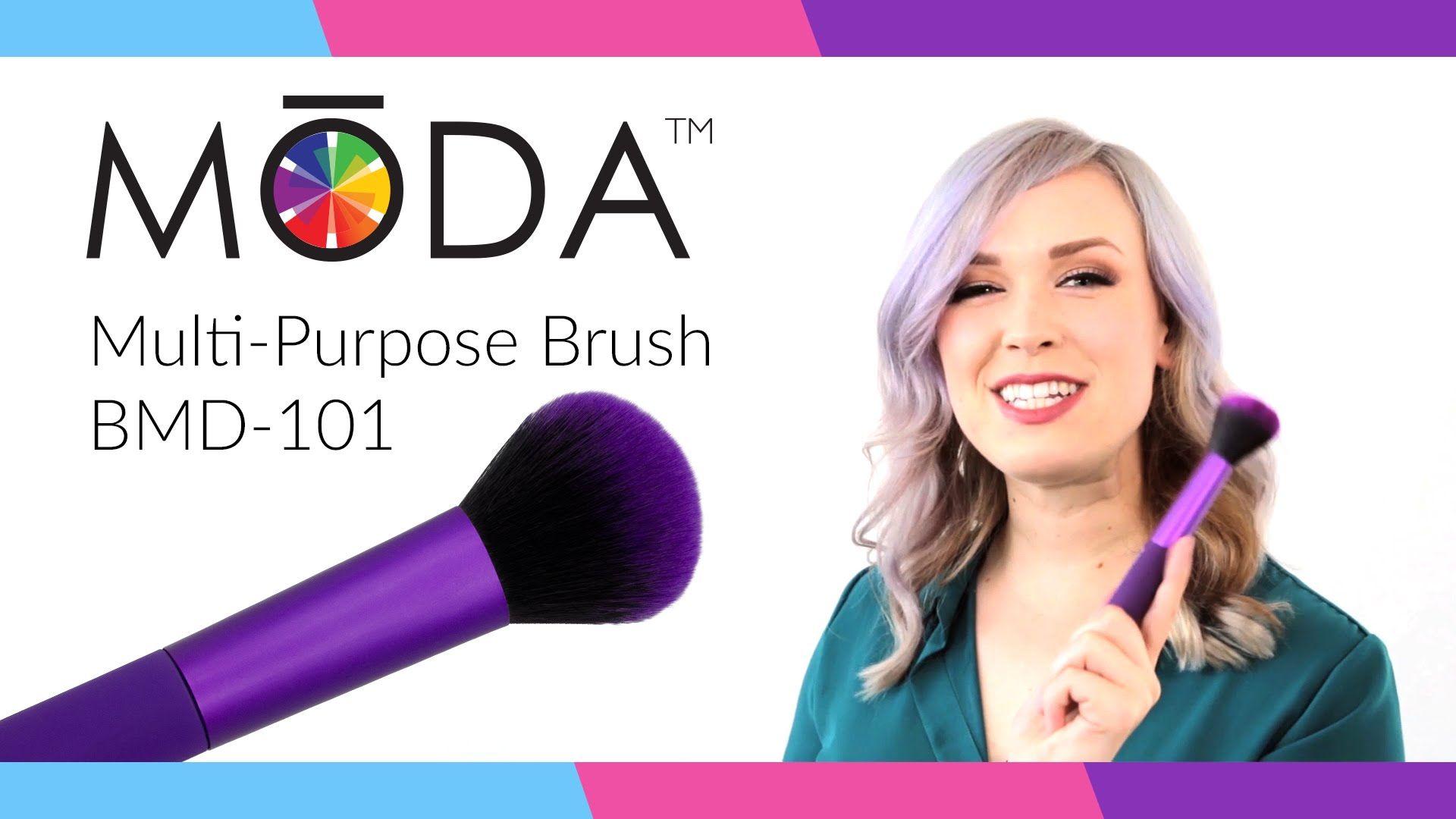 MODA® BMD101 MultiPurpose Makeup Brush ft. OhhMyAnnie