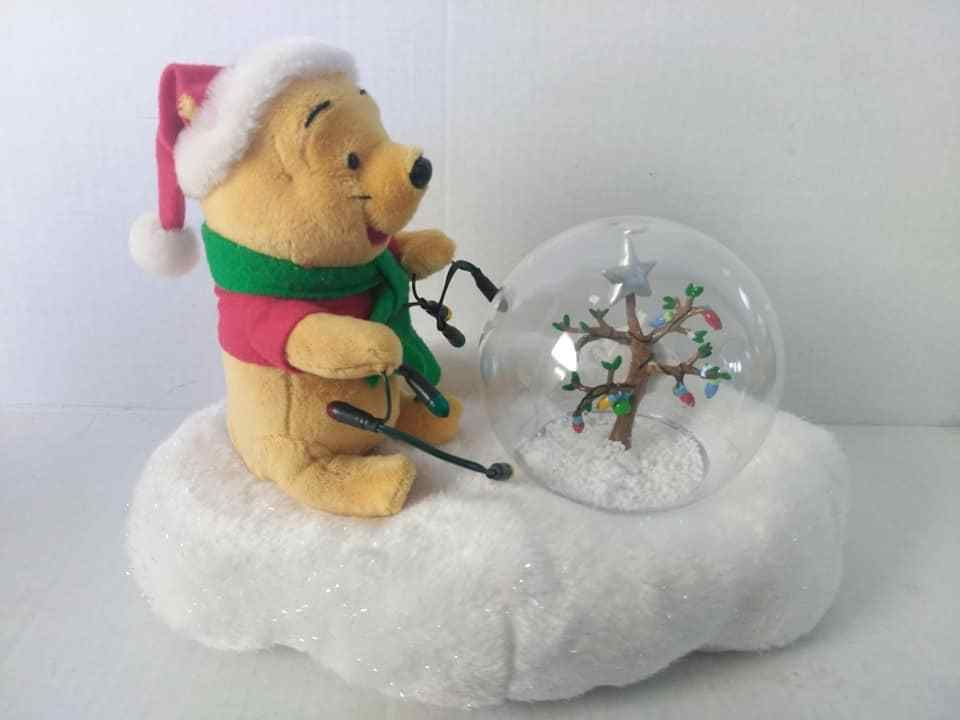 Details about Gemmy Winnie The Pooh Christmas Animated Musical Plush