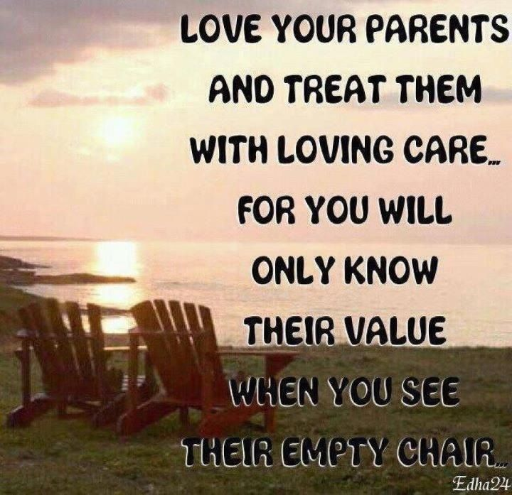 Respect Obey Love Your Parents Words Inspirational Quotes