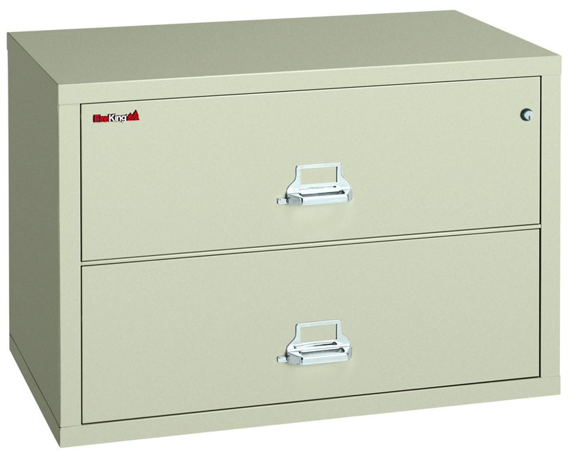 Fire Resistant 2 Drawer Lateral File 44 1 2 W Lateral File Filing Cabinet Fireproof Insulation