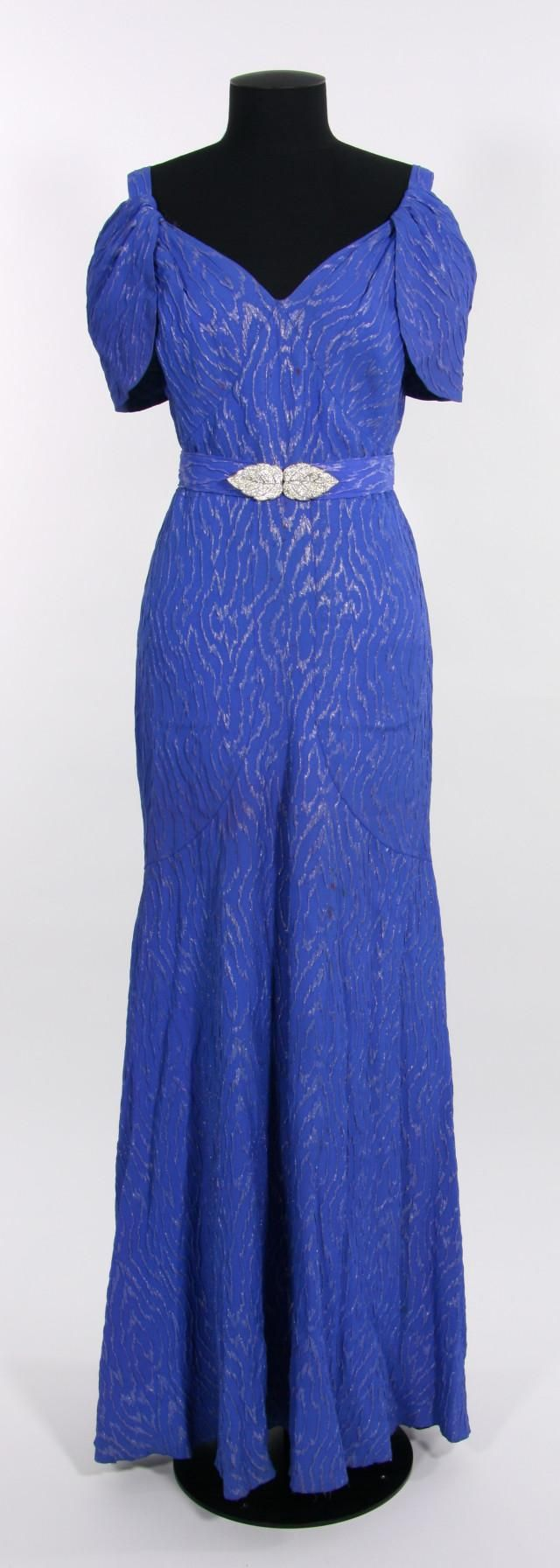 Object evening dress s collections online museum of new