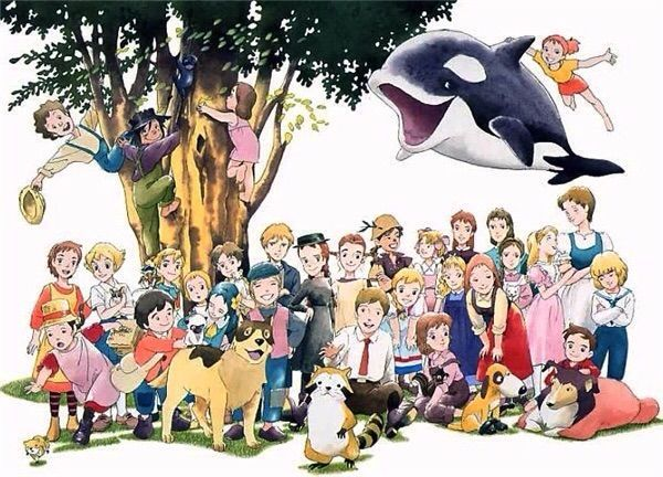 Portrait World Masterpiece Theater Anime Masterpiece Theater