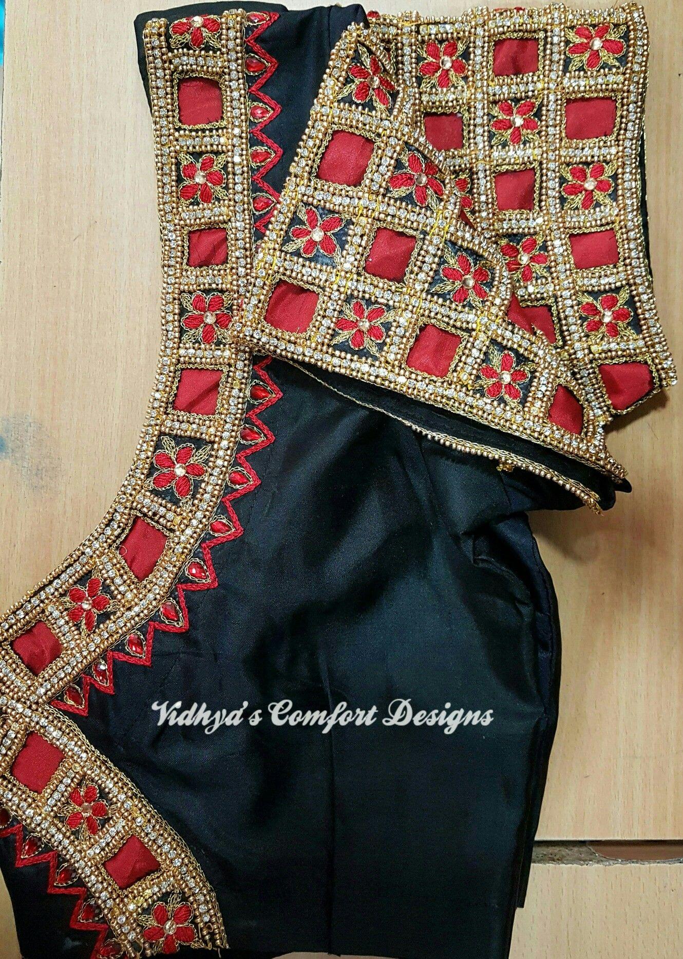 Saree blouse design cutting pin by rishith boutiq guntur on embridary  pinterest  blouse