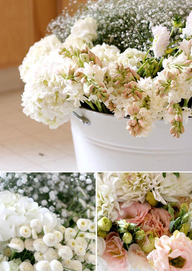 how to do your own wedding flowers