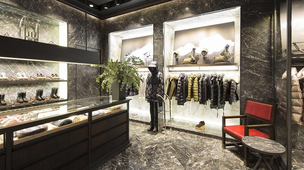 A look at the #moncler boutique in Macau at Galaxy Macau Resort #macau