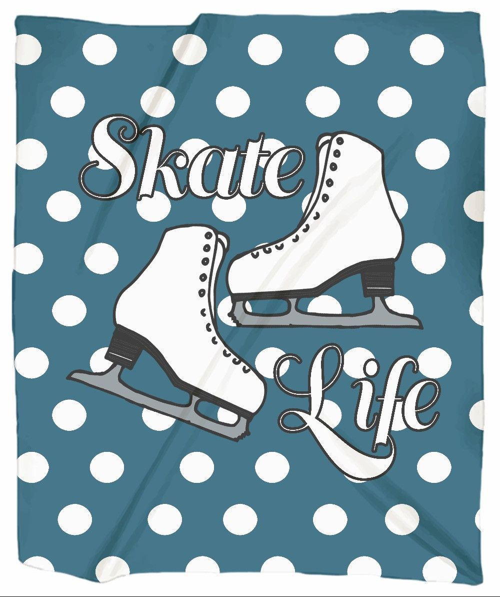 Skate Life Jersey Blankets