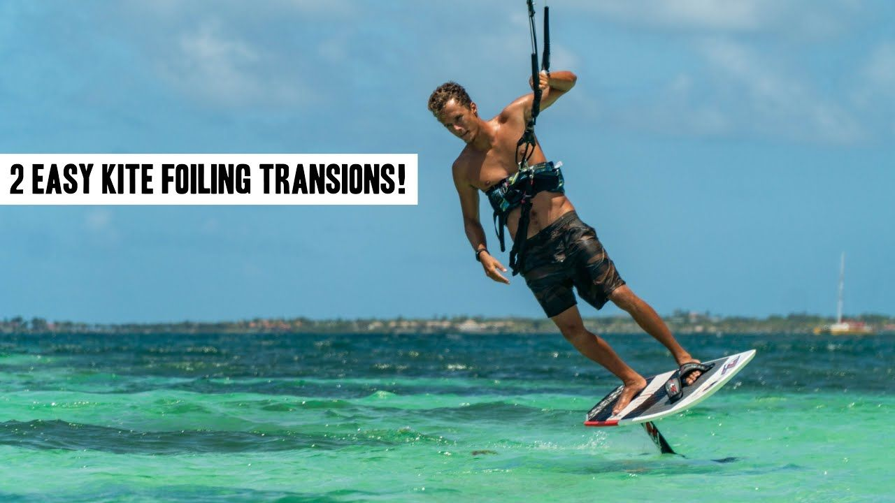 Beginner hydrofoil tutorial on transitions two tips and