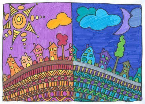 Arts visuels: couleurs chaudes et couleurs froides - Crapouilleries ...